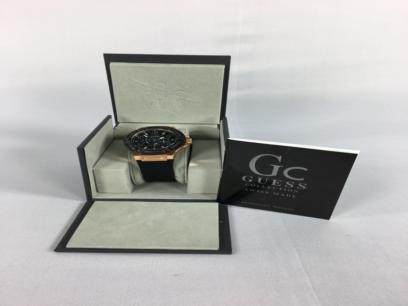 Guess Black Gold Watch